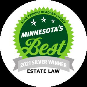 Lucere Legal Winner of Star Tribune's 2021 MN Best Estate Law Silver Award