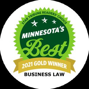 Lucere Legal winner of Star Tribune's 2021 MN Best Business Law Gold Award